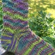 Tilt and Whirl Socks