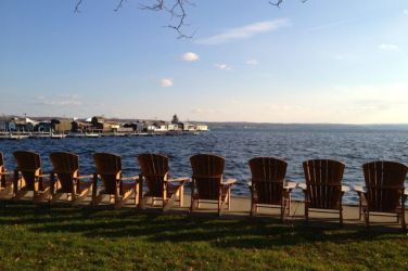 Lake Canandaigua, Knitter's Review Retreat