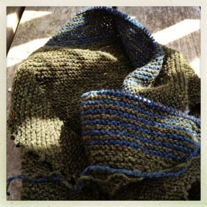 Zephyr Cove Shawl