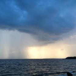 Noyac Bay summer storm